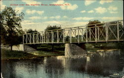Bridge Over The Wallkill River