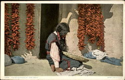 The Red Pepper Lady Hopi Indian