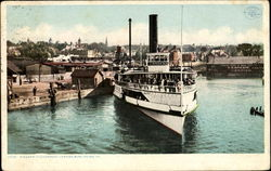Steamer Ticonderoga Postcard