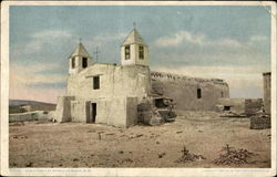Old Church At Pueblo Of Isleta