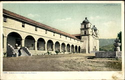 Mission Santa Barbara Postcard