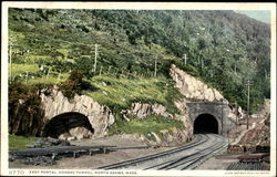 East Portal Hoosac Tunnel Postcard