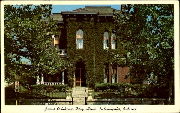 James Whitcomb Riley Home Indianapolis
