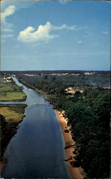 Rehoboth - Lewes Canal Maryland