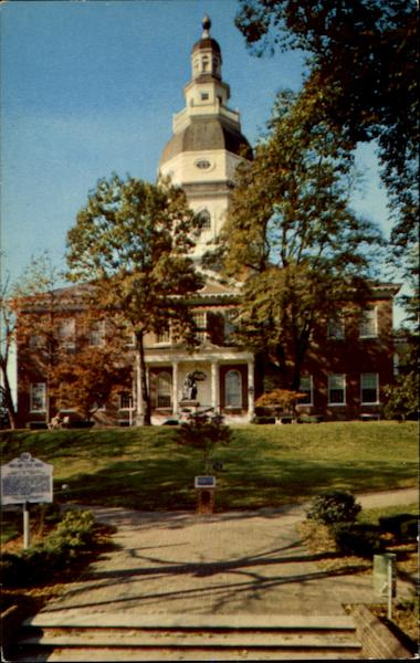 State House Annapolis Maryland