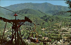 Looking Down On Gatlinburg