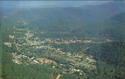 Aerial View Of Gatlinburg