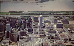 Aerial View Of Downtown Memphis