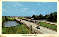Arkansas Interstate Forty Postcard