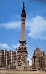 Soldiers And Sailors Monument Postcard