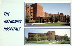 The Methodist Hospitals, 600 Grant Street Postcard