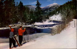 Winter View Of Ausable River