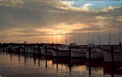 Sunset At Indian River Yacht Basin