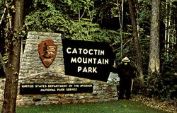 Entrance Catoctin Mountain Park