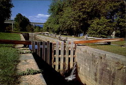 The Reconstructed Canal Lock