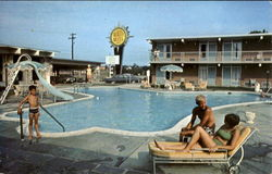 Quality Inn East, U. S. 522, 50 and 17 Postcard