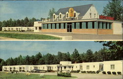 Bowie's Motel And Restaurant, U. S. 301 Postcard