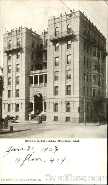 Hotel Bienville Mobile Alabama