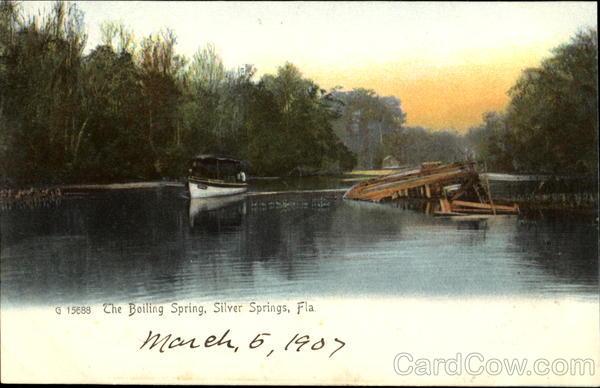 The Boiling Spring Silver Spring Florida