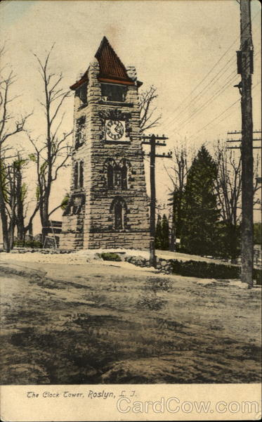 The Clock Tower, Roslyn Long Island New York