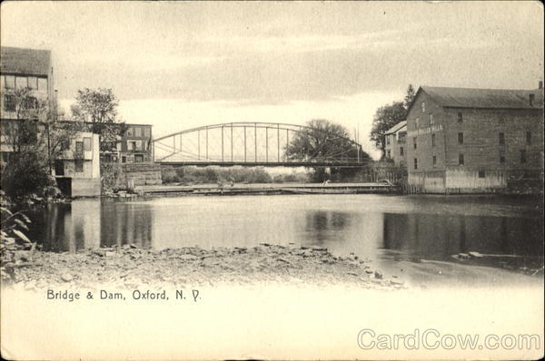 Bridge & Dam Oxford New York