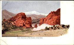 Gateway To He Garden Of The Gods