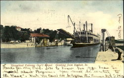 Steamboat Entering Gob's Canal