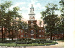 Independence Hall Postcard