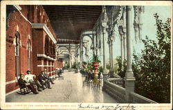Porch Of The Tampa Bay Hotel