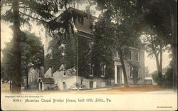 Moravian Chapel Brother House
