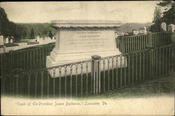 Tomb Of Ex-President James Buchanan