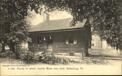 House In Which Jennie Wade Was Shot