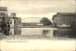 Bridge & Dam Postcard