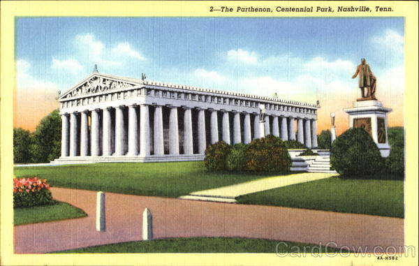 The Parthenon, Centennial Park Nashville Tennessee