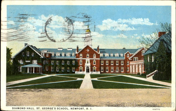 Diamond Hall, St. George's School Newport Rhode Island