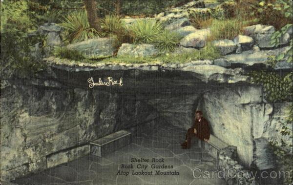 Shelter rock rock city gardens lookout mountain tn sciox Gallery