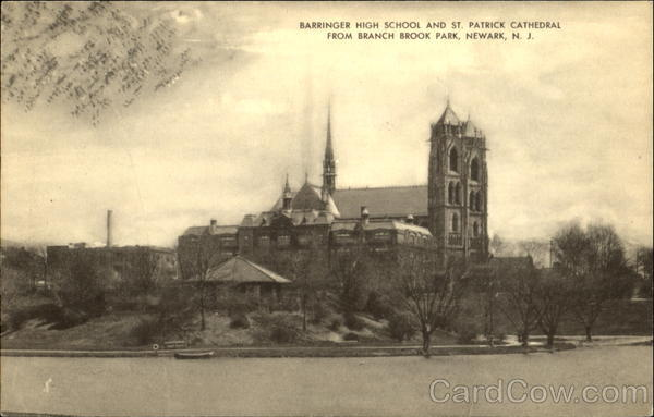 Language In 45 And 47 Stella Street: Barringer High School And St. Patrick Cathedral, Branch