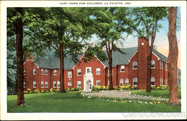 Cary Home For Children La Fayette Indiana