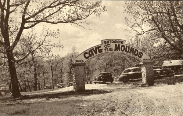 Entrance Cave Of The Mounds Blue Mounds Wisconsin