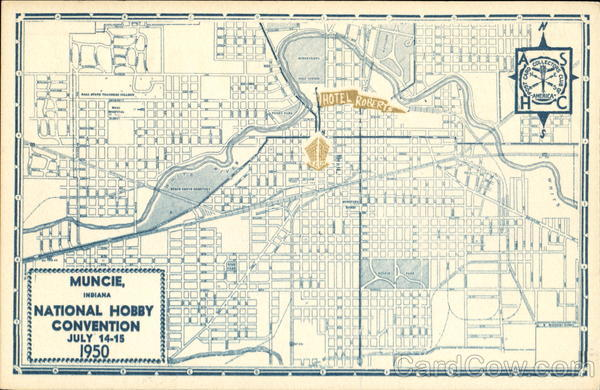 1950 National Hobby Convention Muncie IN