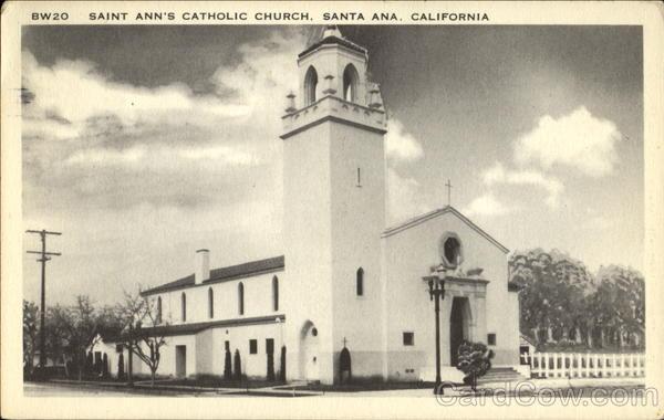 Saint Ann's Catholic Church Santa Ana California