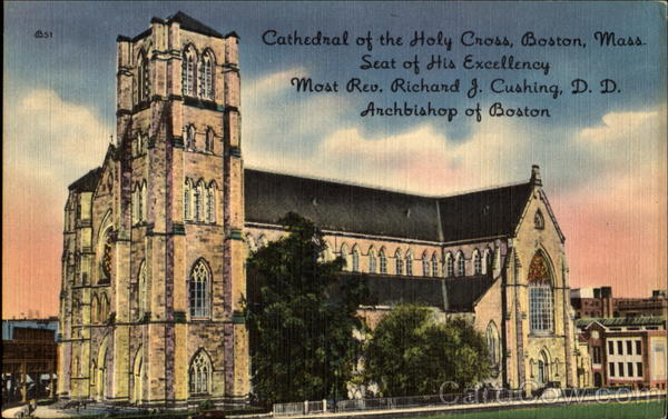 The Cathedral Of The Holy Cross, 1400 Washington Street Boston Massachusetts