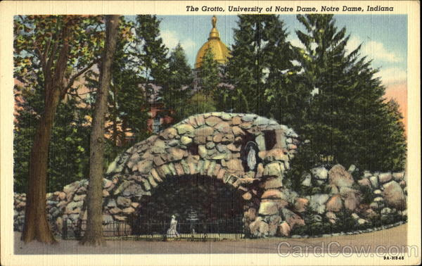 The Grotto, University Of Notre Dame Indiana