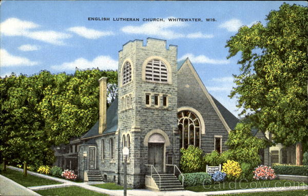 English Lutheran Church Whitewater Wisconsin