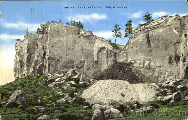 Indian Caves Billins Montana