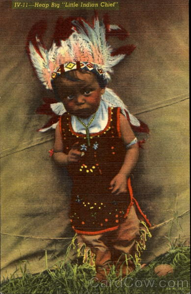 Little Indian Chief Native Americana