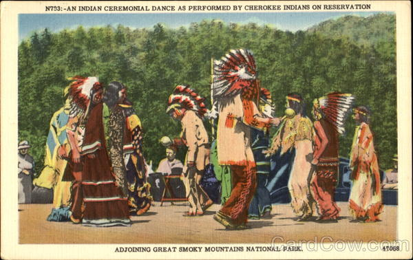 An Indian Ceremonial Dance Native Americana