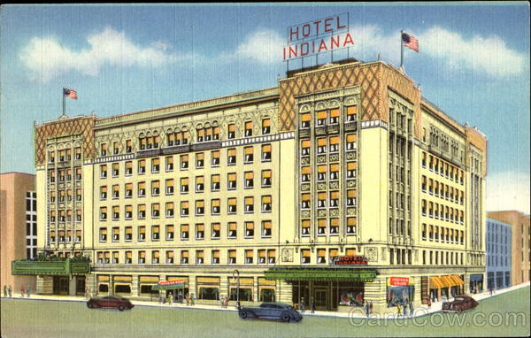 Hotel Indiana, U. S. Routes No. 34, 24, 33 and 14 Fort Wayne