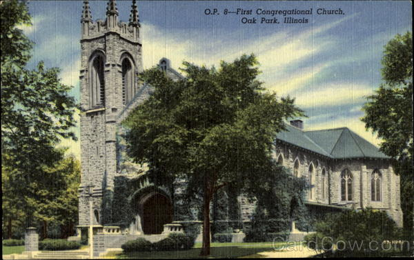 First Congregational Church Oak Park Illinois