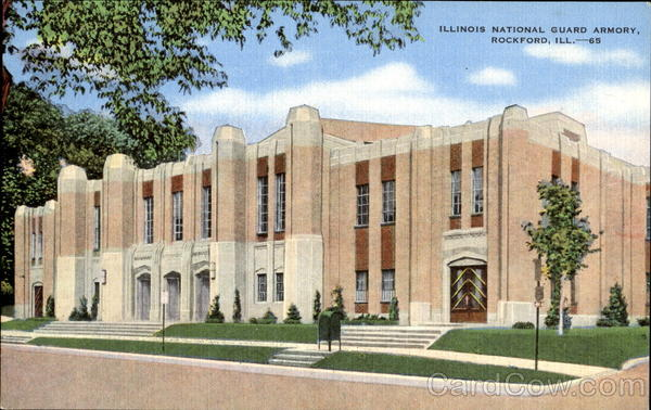 Illinois National Guard Armory Rockford